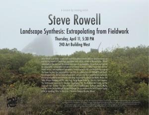 Steve Rowell Poster