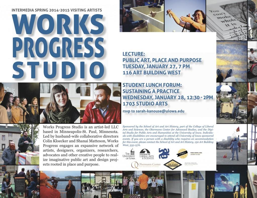 Works Progress Poster