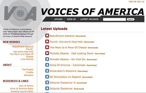Voices of America Screenshot