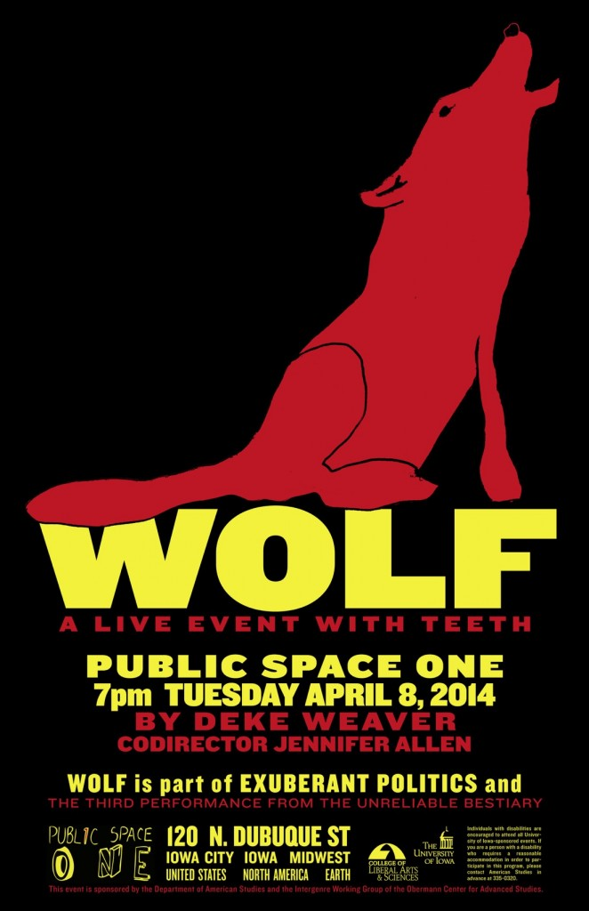 Wolf Performance Poster